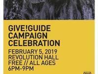 Give!Guide Campaign Celebration