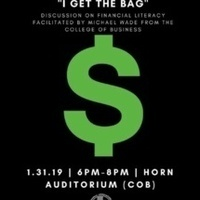 """""""I Get the Bag"""" Financial Literacy Discussion"""