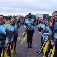 URI Color Guard Learn to Spin Clinic
