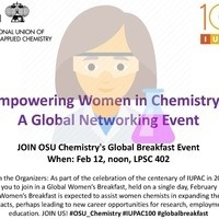Empowering Women in Chemistry: A Global Networking Event