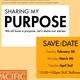 Sharing My Purpose