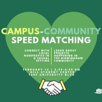 Campus Community Speed Matching