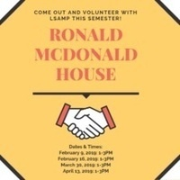 Service at Ronald McDonal House