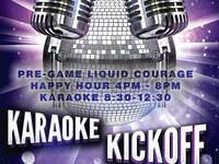 Karaoke KickOff Night
