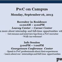 PwC Office Hours - Georgetown