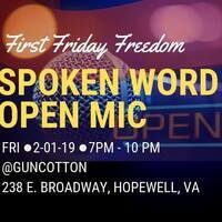 First Friday Freedom Spoken Word
