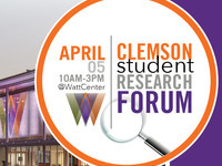 Clemson Student Research Forum 2019