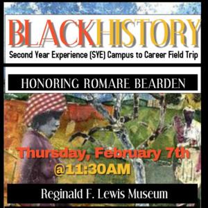 SYE Campus to Career Field Trip - Reginald F. Lewis Museum