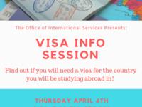 Visa Info Session
