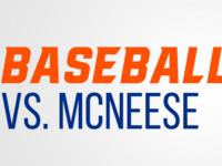 Bearkat Baseball vs. McNeese