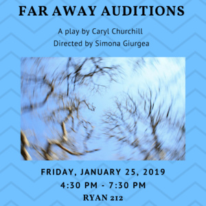 """""""Far Away"""" Auditions - Spring University Theater Production"""