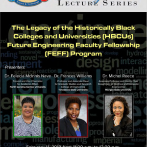 Office of Naval Research Lecture: The Legacy of the HBCUs FEFF Program