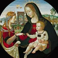 Sunday Object Talk: Mystic Marriage of St. Catherine