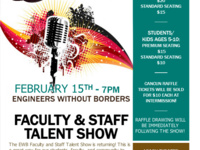 EWB Faculty and Staff Talent Show