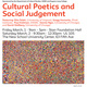 Cultural Poetics and Social Judgement - Day 2