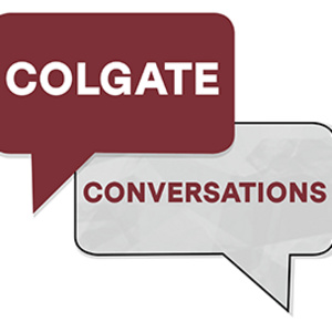 "Colgate Conversations: ""Art and Conflict: A Conversation with Dawn Weleski"""
