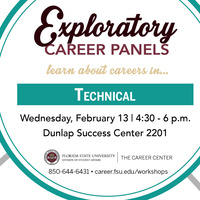 Technical Careers Panel