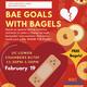 'Bae Goals with Bagels' Bystander Relationship Violence Workshop