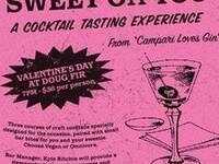 Sweet On You: A Cocktail Tasting Experience