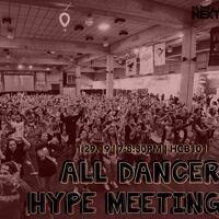 Dance Marathon: All Dancer Hype Meeting