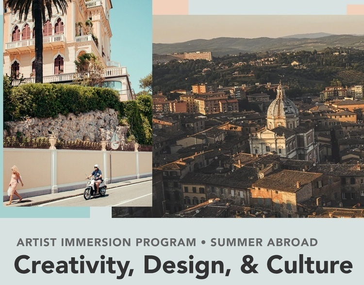 Italy Summer Faculty Excursion - Information Session