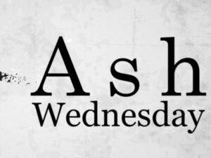 Ash Wednesday Service Heinz Chapel