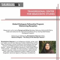 2019 Global Dialogues Fellowship Opening Reception