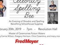 Schoolhouse Supplies Celebrity Spelling Bee