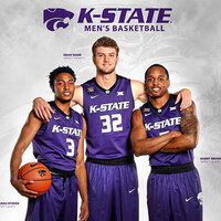 Men's Basketball:  K-State at Kansas