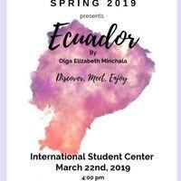 International Coffee Hour: Ecuador