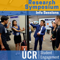 Symposium Information Sessions - Undergraduate Research