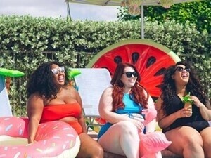 Body Positivity Pool Party