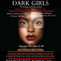 Dark Girls Viewing and Discussion | Multicultural Affairs