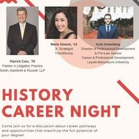 History Career Night