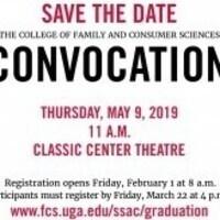 Spring 2019 FACS Convocation
