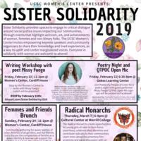 Sister Solidarity 2019
