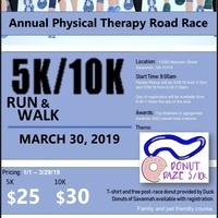Donut Daze-Georgia Southern Physical Therapy Road Race 2019