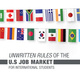 Unwritten Rules of the U.S. Job Market