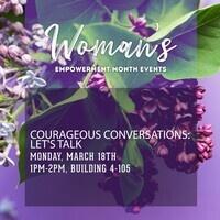 Courageous Conversations: Let's Talk