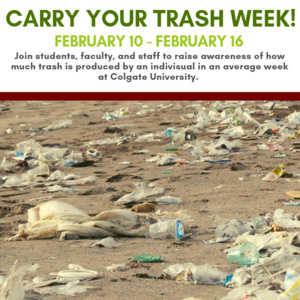 Carry Your Trash Week Information Session