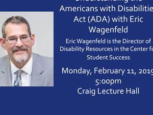 Understanding the ADA with Eric Wagenfeld