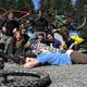Mountain Bike at Alsea Falls