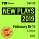 """FIU Theatre Presents """"New Plays 2019"""""""