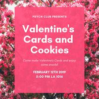 Psych Club Presents: Valentine Card Decorating!