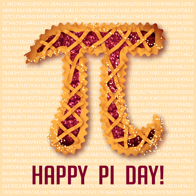 Pi Day Celebration = Department of Mathematics