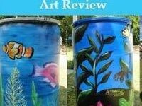 2019 Rain Barrel Art Review Contest