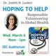 Hoping to Help: Responsible Volunteering in Global Health
