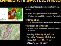 Intermediate Spatial Analysis Workshop--2nd session