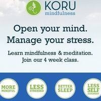 4-week KORU Mindfulness Class