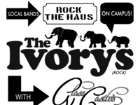 Rock the HAUS: Band Showcase with The Ivorys and Glass Castles
